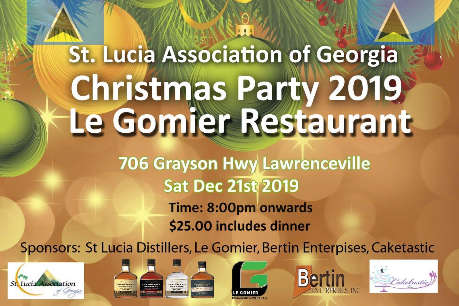 SLUAG Christmas Party 2019